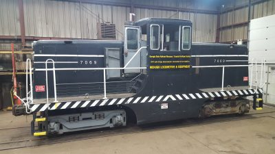 Vintage Diesel Locomotive & Historic Equipment Restorations - Mchugh